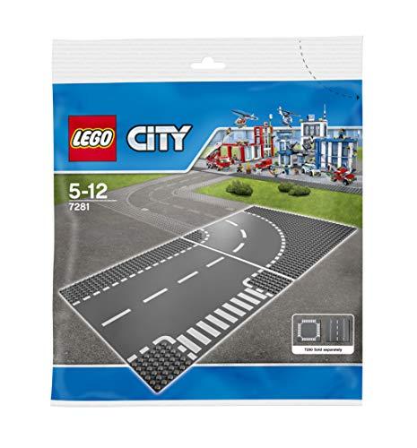 LEGO City - Juntas en T y curvas (7281)