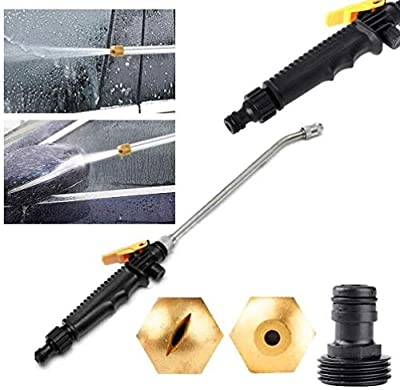 MSYR 2-in-1 High pressure power washer, Pro High Pressure Power Washer Slip-Resistant Spray Nozzle with New Water Hose Wand, All Pressure Power Nozzle Perfect for Washing Cars,Patio's (72cm) by MSYR