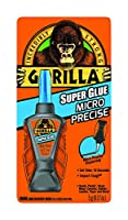 Gorilla 6770002 マイクロ精密スーパー接着剤 5g クリア 6パック
