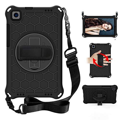 XunyLyee Kompatibel mit Huawei Mediapad M5 8.4 Hülle, Schultergurt & Ständer, Griff, Kinder-Schutzhülle Tablet für Huawei Mediapad M5 8.4