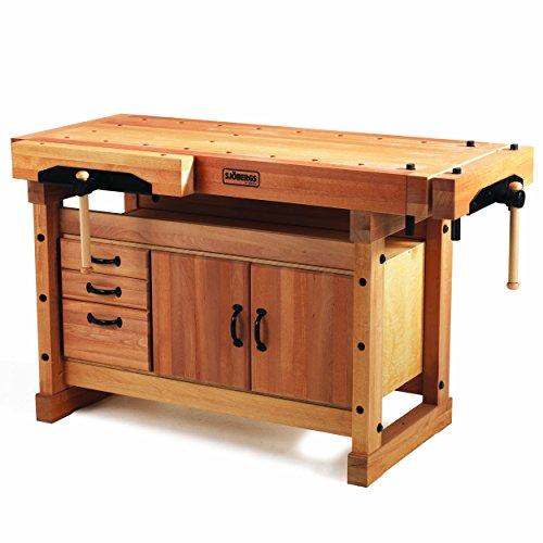 Sjobergs Elite 1500 Workbench Plus Cabinet Combo
