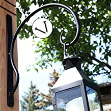 EXCEPTIONALLY Sturdy Hanging Plant Bracket, for Heavy Duty DOODADS, Elegant Hook for Corinthian Wind Chimes, Kissing Balls, Wreaths, Wind Spinners, Bird Feeders, Indoor & Outdoor Décor