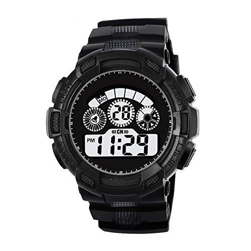Challeng Digital Uhren für Kinder Run Step Watch Herrenuhr Damenuhren für Studenten
