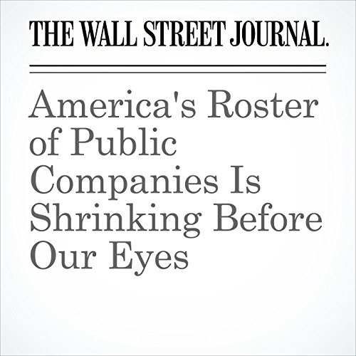 America's Roster of Public Companies Is Shrinking Before Our Eyes copertina