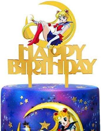 Sailor moon cake topper _image1