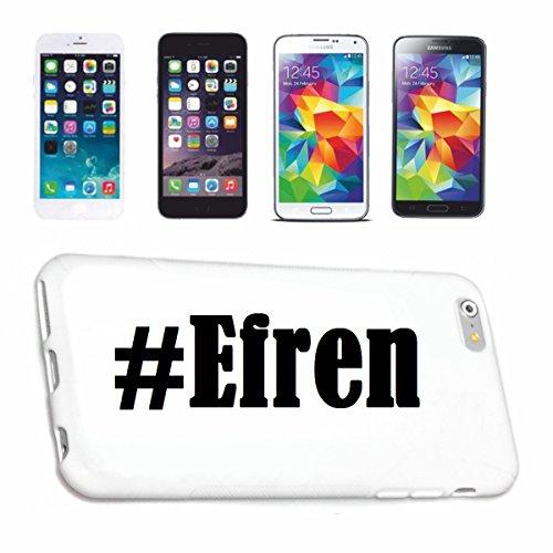 Reifen-Markt Handyhülle kompatibel für iPhone 7S Hashtag #Efren im Social Network Design Hardcase Schutzhülle Handy Cover Smart Cover