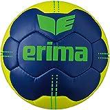 Erima Pure Grip N° 4 Handball Adulte Unisexe, New Navy/Jaune, 2