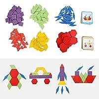 子供のおもちゃ、木製の幾何学ブロック、木質材料 子供の教育玩具、子供の赤ちゃんのための耐食性