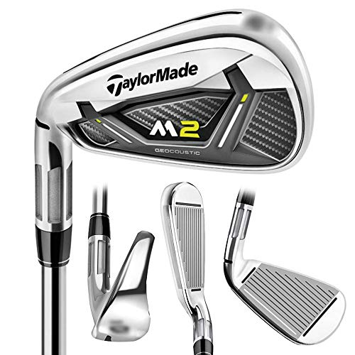 LEFTY NEW TaylorMade 2017 M2 Pitching Wedge/Graphite REAX 75 Stiff Flex -  B1295309