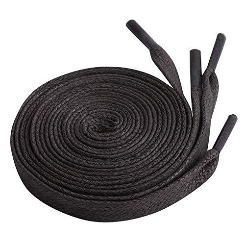 Skxinn Runde Schnürsenkel für Arbeitsschuhe Trekkingschuhe,Business, Turnschuhe- Lederschuhe - 70 cm - 120 cm Länge(Dunkelgrau,One Size)