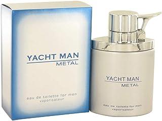 Myrurgia Yacht Man Metal for Men 3.4 oz EDT Spray
