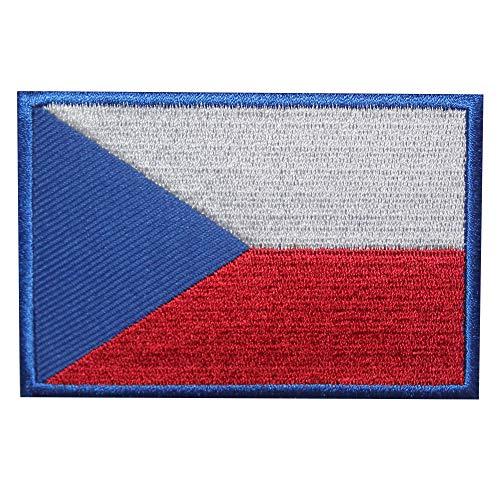 Parche bordado bandera República Checa