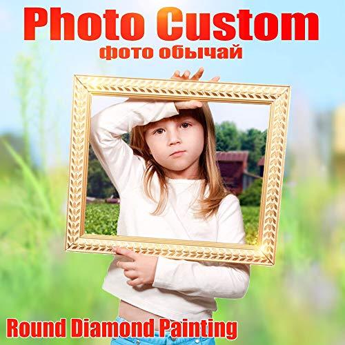 Pintura De Diamantes, Foto Personalizada Diamante Pintura Punto De Cru