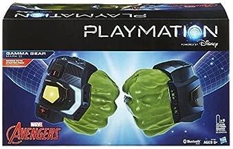 Playmation Marvel Avengers Gamma Gear PACK, Marvel Toys Hulk PLAYMATION KIT ,#G14E6GE4R-GE 4-TEW6W222325