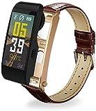NO BRAND Y6 Smart Watch Bluetooth Sport Podómetro Pulsera Fitness Tracker Pulsera para iOS/Andorid Smart Phone