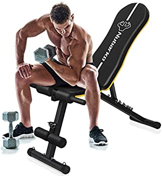 Forethought Outdoor Adjustable Weight Utility Bench