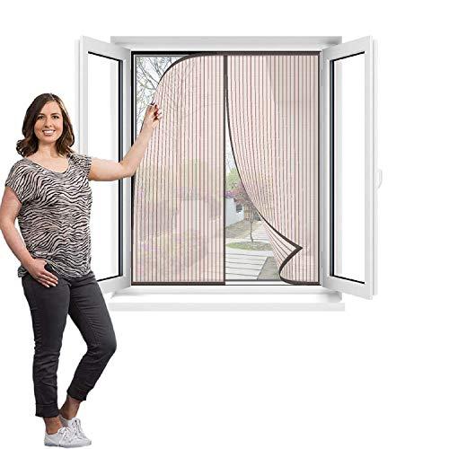 Flei Mosquitera Magnética para Puertas 80x120cm, Cortina Mosquitera para Puertas, Adsorción magnética...