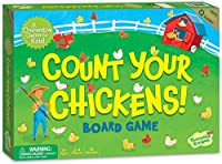 Peaceable Kingdom Count Your Chickens Award Winning Cooperative Counting Game for Kids [並行輸入品]