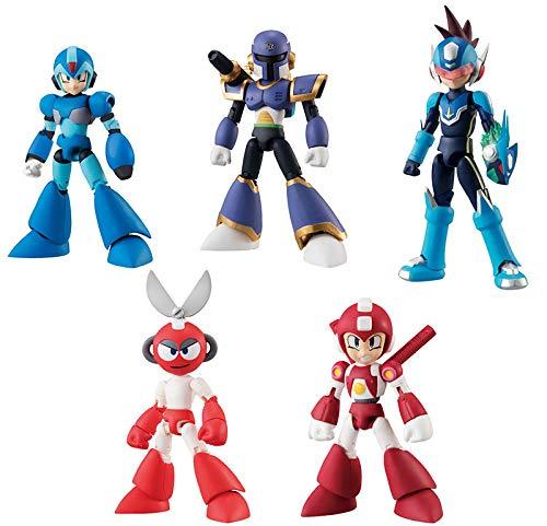 Bandai Shokugan 66 Action Dash Mega Man 2 Action Figure (Set of 5)