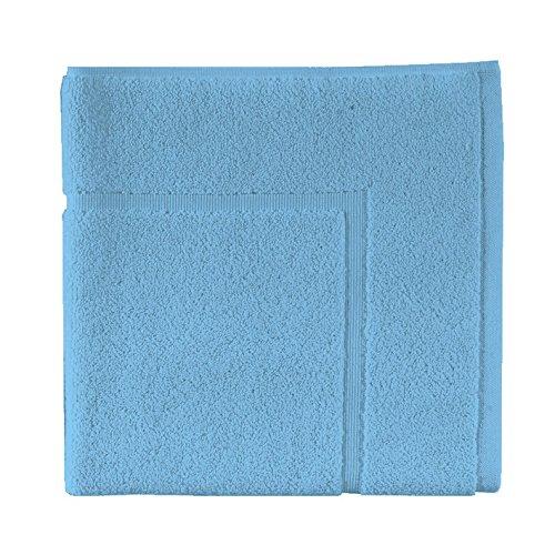 Essix - Tapis de Bain Aqua Coton Turquoise 60 x 60 cm