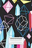 Notebook: Bright Pattern Crystals , Journal for Writing, Size 6' x 9', 164 Pages