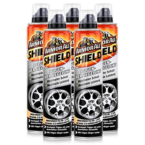 Armor All Shield Felgen-Versiegelung 300ml - Hält bis zu 4 Wochen (5er Pack)