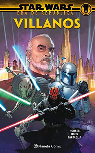Star Wars Era de la República: Villanos (tomo) (Star Wars: Recopilatorios Marvel)