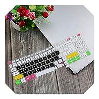 15.6インチノートブックラップトップキーボードカバープロテクタースキンFor Asus熱望5 A515-43 A515 43 R19L r4z2 r6ww A315-55 a315-55g 15.6 ''-Candyblack-