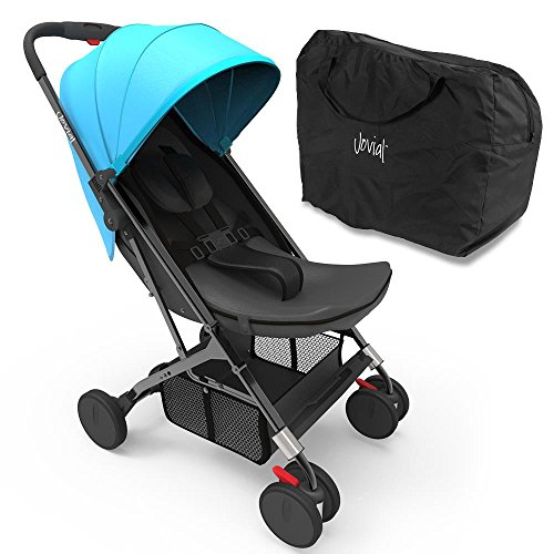 Jovial Portable Folding Baby Stroller (Blue)