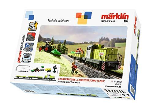 Märklin Start up 29652 - Startpackung Landwirtschaftszug, Spur H0 Modelleisenbahn, Startset mit Zug und Gleisen, ab 6 Jahre