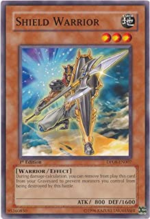 YU-GI-OH! - Shield Warrior (DP08-EN007) - Duelist Pack 8 Yusei Fudo - 1st Edition - Common