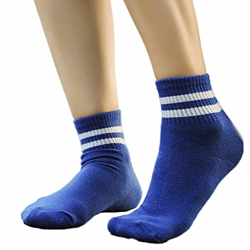 TEBAISE Damen Herren Unisex Sneaker Socken Damensocken Sportsocken Sneakersocken
