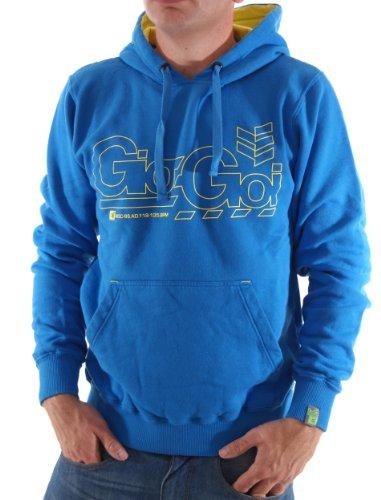 Gio-Goi Reatle Herren Hoodie Sweat Mountain Blue Gr. L