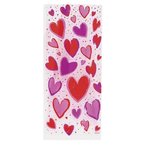 20 sacs cadeaux Saint Valentin