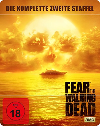 Produktbild von Fear the Walking Dead - Die komplette zweite Staffel - Uncut/Steelbook [Blu-ray]