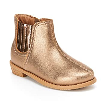 Simple Joys by Carter s Baby Girls  Ella Bootie Chelsea Boot Tan 10 M US Toddler