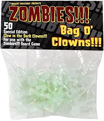 Bag O Zombie Clowns Glowing by Twilight Creations