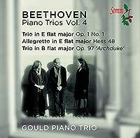 Piano Trios 4 by Gould Piano Trio (2013-05-03)
