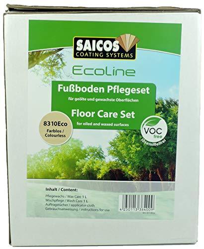 Saicos Fußboden Pflegeset 8310Eco f. gölte Oberflächen