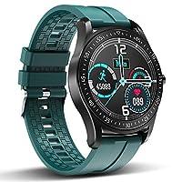 """【Touch Screen a Pieno Schermo Smartwatch】Ricca faccia di orologio preimpostato, smart watch hanno cinque volti a tema, adatti per il quotidiano, il business, il tempo libero, lo sport e altre occasioni per soddisfare le vostre diverse esigenze.1.3 """"T..."""