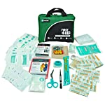 General Medi 160 Piece Compact First Aid Kit Bag - Including Cold (Ice) Pack, Emergency Blanket, Moleskin Pad,Perfect… 4