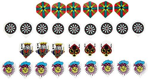 Schmidt Sportsworld Piombi di Ricambio per Freccette, Forma Standard, 10 Set = 30 Pezzi