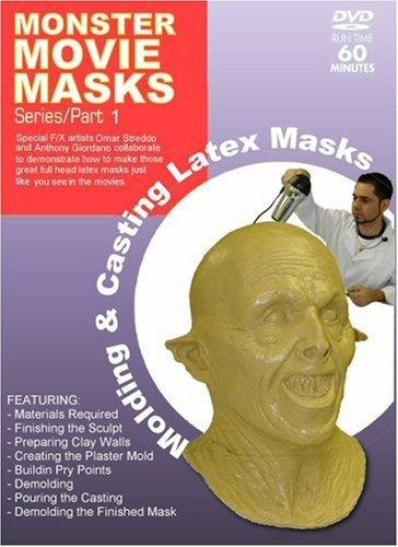 Monster Movie Masks - Molding & Casting Latex Masks
