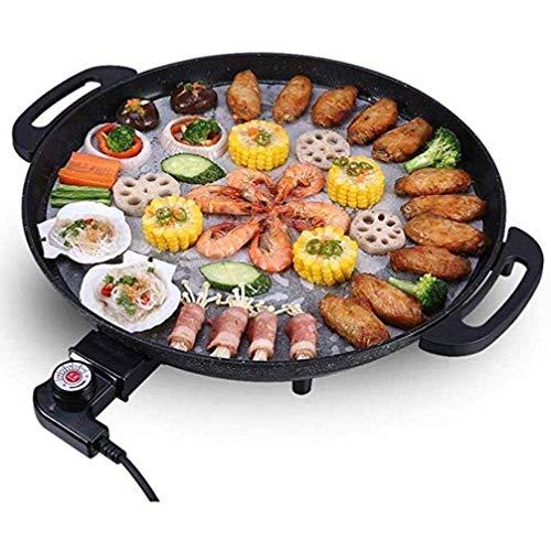 JGSDHIEU Nonstick BBQ Grills Tarwe Rijst Steen Pan Fire Inductie Algemeen gebruik Barbecue Pot Rond Roosteren Plaat Thuis Gebruik