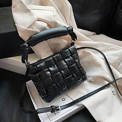 PANZZ Crossbody Bags Women Shoulder Handbags Female Travel Summer Totes, Black, Mini