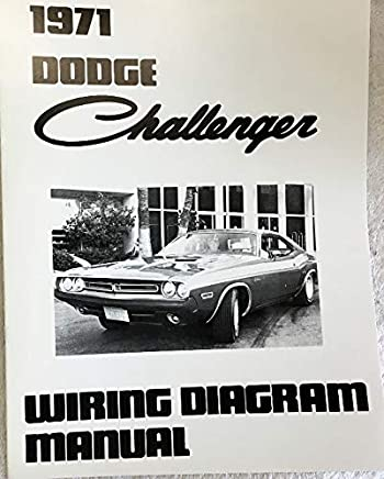1971 dodge challenger factory electrical wiring diagrams & schematics