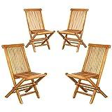 ib style® Royal Teak chaises Pliantes |...