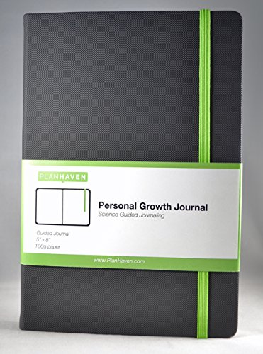 Planhaven Personal Growth Journal (90 Day) - Best Daily Journal for Cultivating Positive Mental Health - Track Water Consumption - Build Momentum in Your Life - Develop Positive Habits