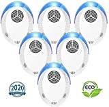 Best Pest Repellers - Ultrasonic Pest Repeller 6 Pack, 2020 Upgraded Pest Review