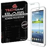 TECHGEAR Vidrio Compatible con Galaxy Tab 3 7.0' (SM-T210 / P3200) - Auténtica Protector de Pantalla Vidro Templado para il Samsung Galaxy Tab 3 7.0 Pulgada